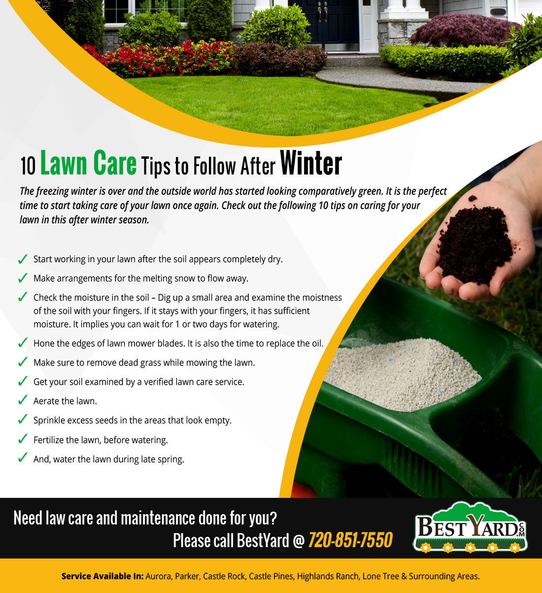 Lawn Care Tips To Follow After Winter