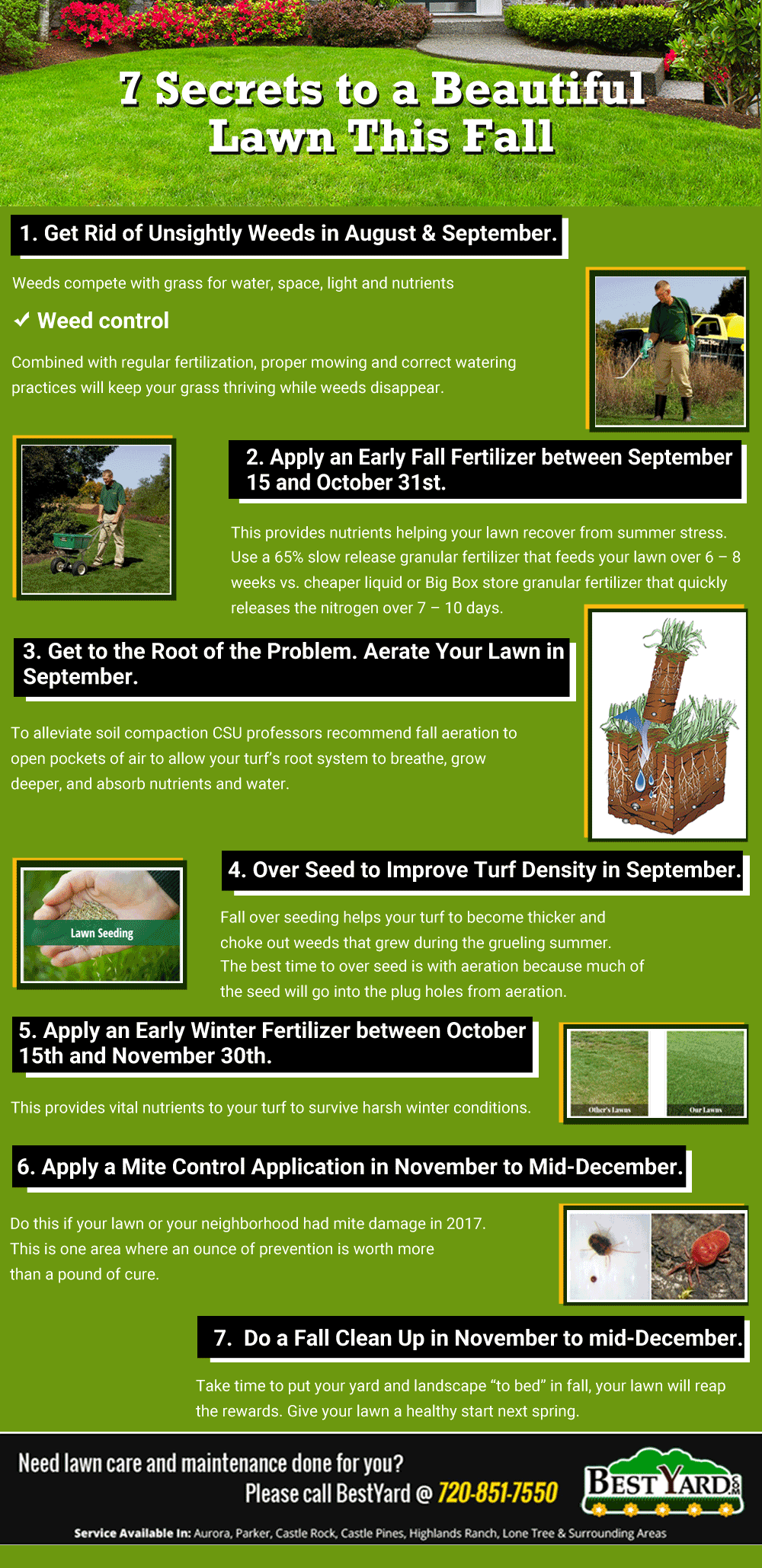 7 Secrets to a Beautiful Lawn This Fall