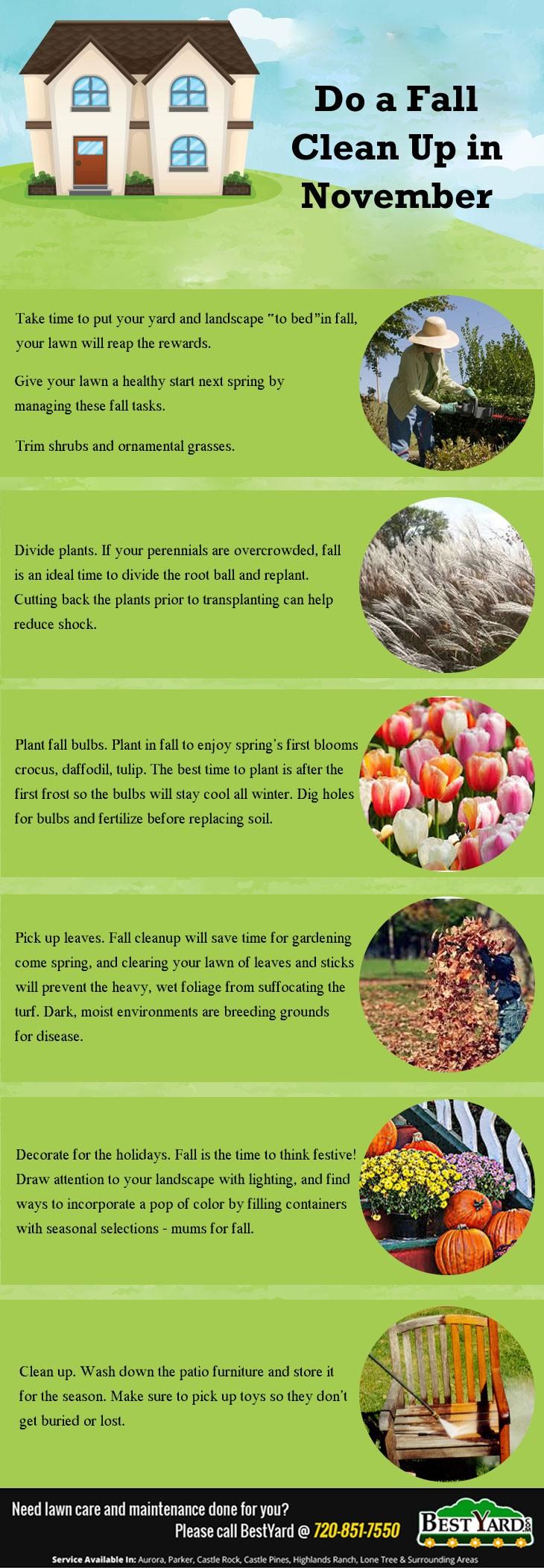 Do A Fall Clean - Up in November - bestyard.com