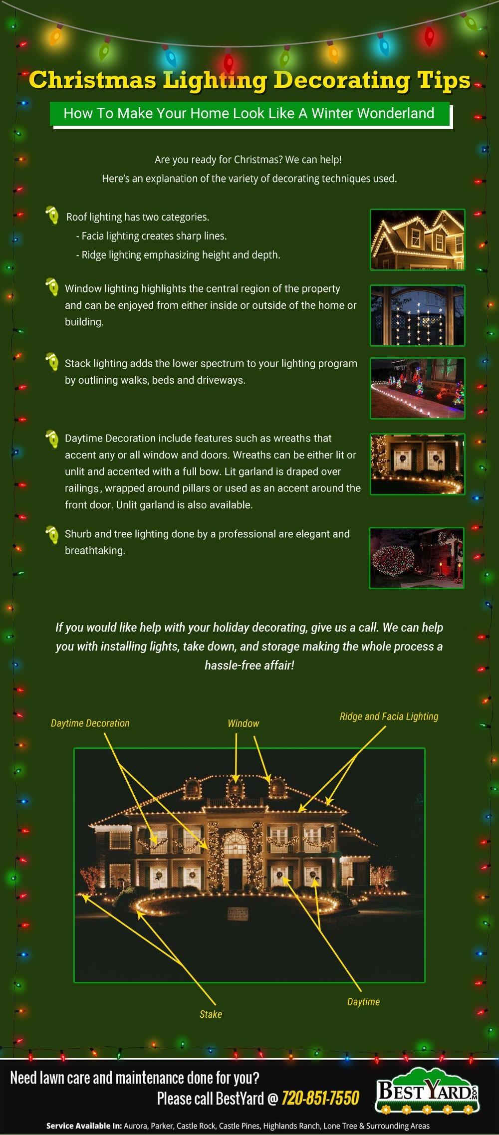 Christmas Lighting Decorating Tips