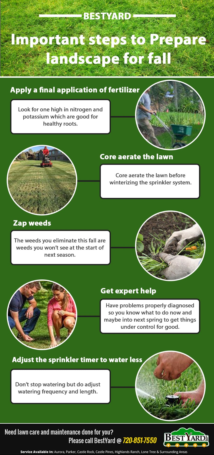Important steps to Prepare landscape for fall