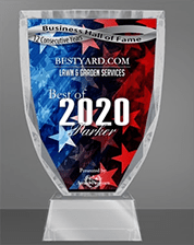 BestYard's Award for Lawn Services