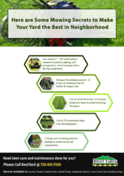 Mowing Secrets to